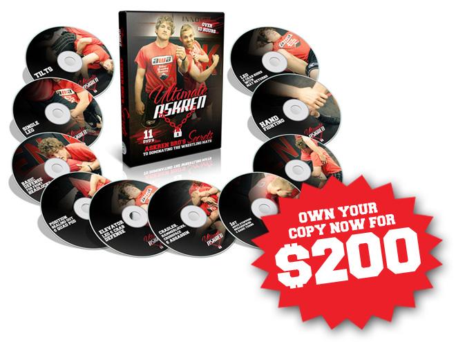 Ultimate Askren DVD 11-Disc Set