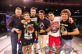 Ben Askren with Anthony Petis