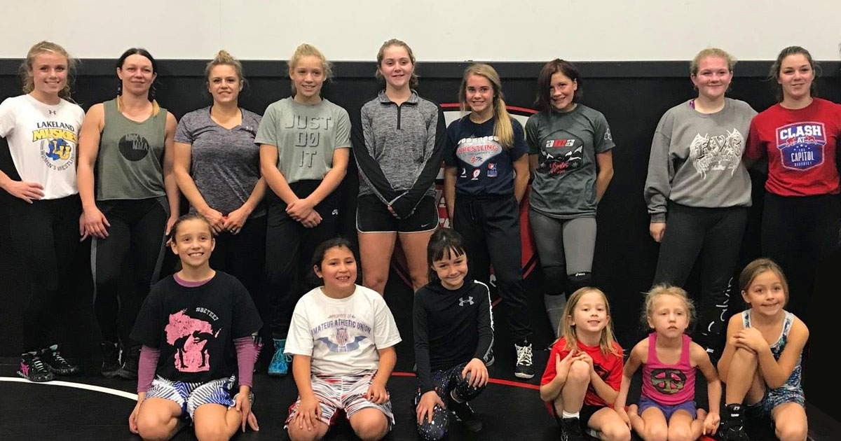 awa girls wrestling camp
