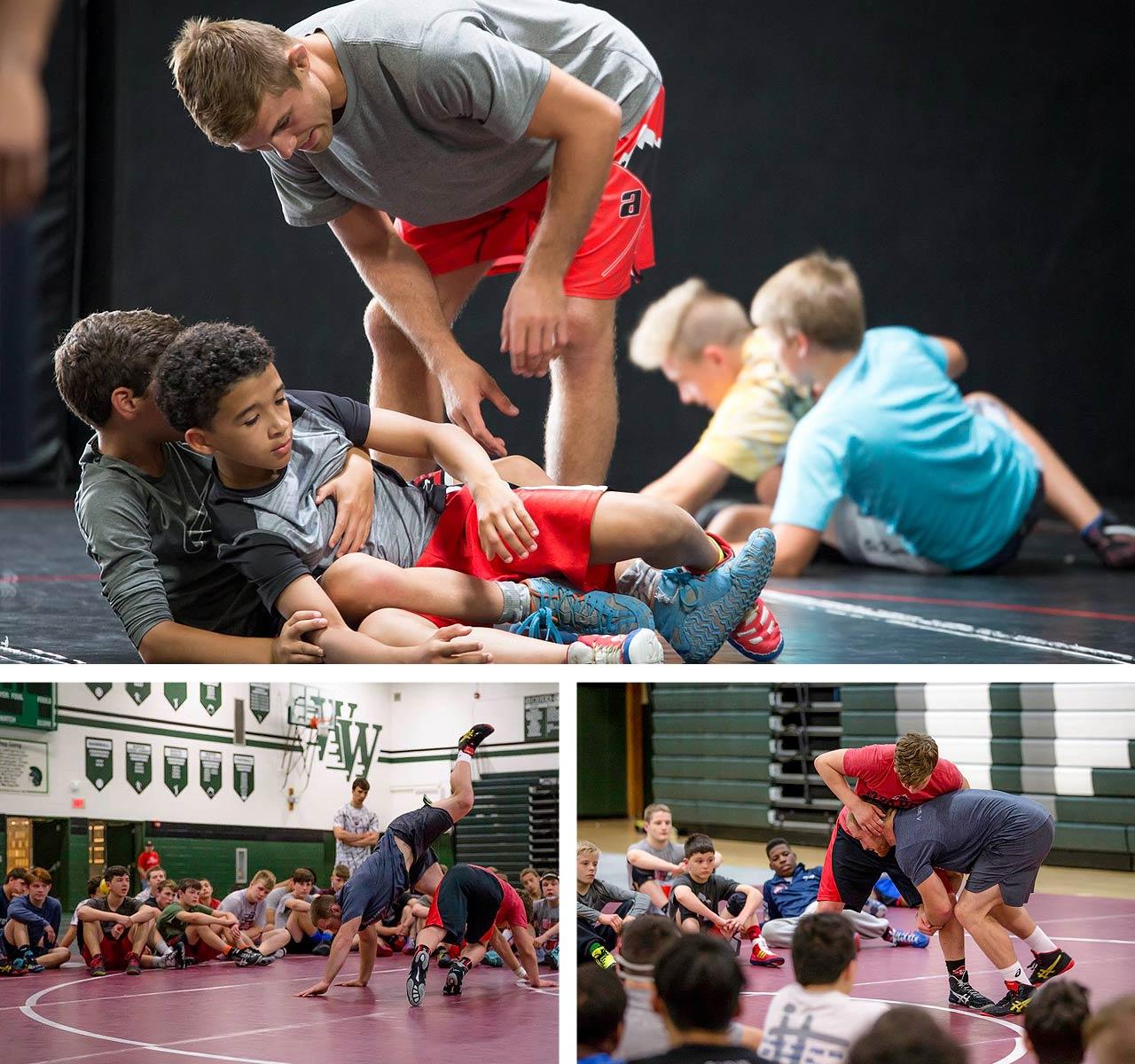 elite youth wrestling class askren
