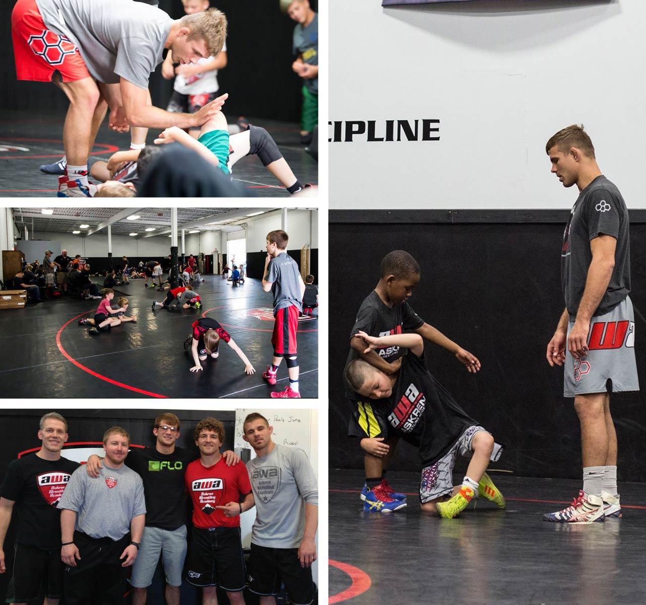 wisconsin wrestling coach max askren