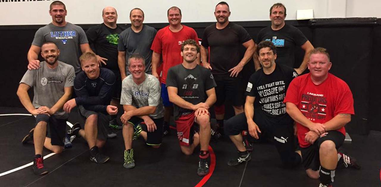 wrestling academy veterans
